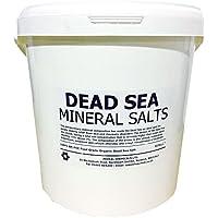 Hexeal DEAD SEA SALT | 10KG BUCKET | 100% Natural | FCC Food Grade