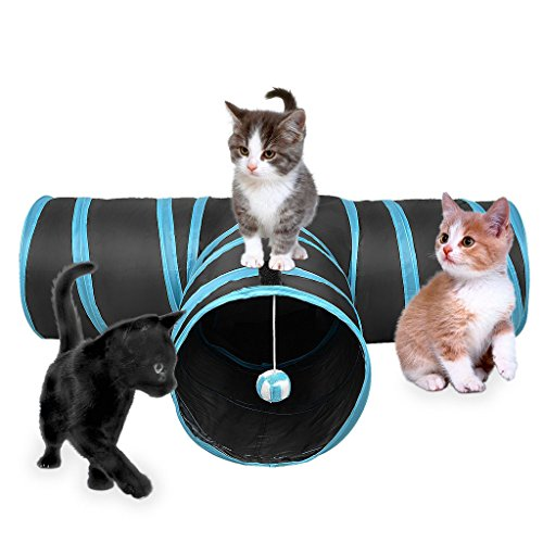 S-Lifeeling - Túnel plegable gato hacer ejercicio