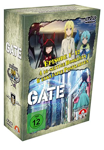 Gate - 1. Staffel - Gesamtausgabe - DVD Box (4 DVDs)