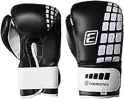 ENERGETICS Boxhandschuhe FT, Schwarz/Weiss, 8 oz