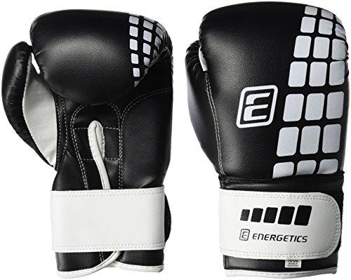 ENERGETICS Boxhandschuhe FT Schwarz/Weiss, 10 oz