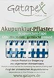 Gatapex 120 original gitterförmige Akupunkturpflaster in bunt, gemischt