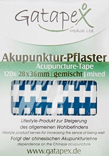Gatapex Gitter Akupunktur-Pflaster (Größe M) gemischt