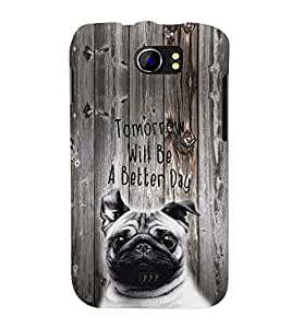 PRINTSWAG QUOTE Designer Back Cover Case for MICROMAX A110 CANVAS 2