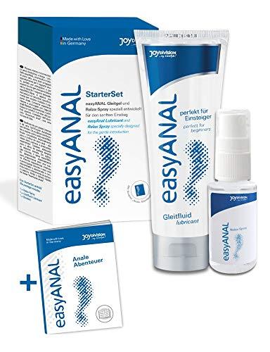 Feuchtalarm - Anal - Gleitgel und Anal Relax Spray Set - langanhaltende Gleitfähigkeit und intensive Gefühle - Analsex - Analverkehr geeignet