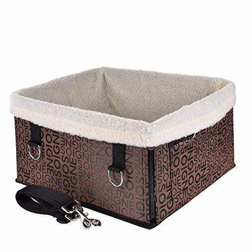GCSEY Warme Haustier Hund Träger Autositz Pad Tresor Haus Katze Welpen Tasche Auto Reise Zubehör Winter Hund Tasche Korb Haustier Produkte