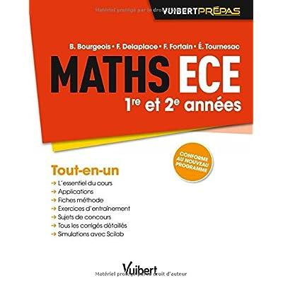 Maths ECE - 1re et 2e années - Conforme au nouveau programme