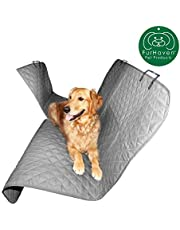 FurHaven Pet Car Seat Cover | Quilted Hammock-Style, Universal Car Seat Cover, Gray
