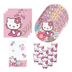 BBS 1181-01 - Tisch-Set Hello Kitty Bamboo, 41-teilig