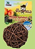 Mr. Woodfield Weiden-Apfelball  Ergänzungsfuttermittel für Zwergkaninchen, Meerschweinchen, Ratten, Hamster, Mäuse und Chinchillas.