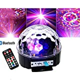 OOFAY LED Music Bluetooth Crystal Magic Ball Light Con Musica Mp3 Magic Ball Light 9 Colori Di Ricarica Bluetooth Audio DJ Party Lights