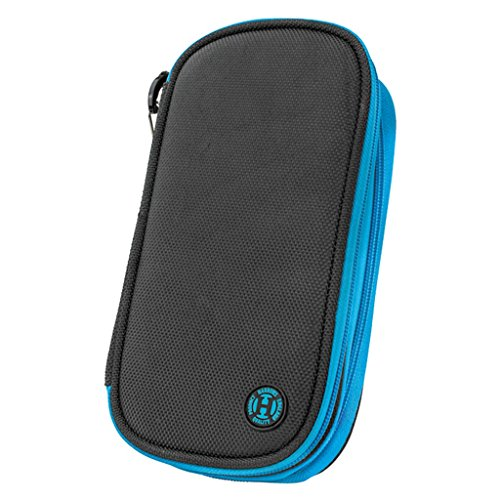 HARROWS Z800 DARTS WALLET - BLACK/BLUE by Harrows Harrows