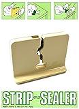 (Strip Sealer) Beutelverschließgerät, Beutelverschlußgerät, Beutelverschließer Plastiktüten Verschluß Mülltütenverschließer Mülltütenverschluß Multisealer Sealer Beutelverschluß (Strip Sealer)