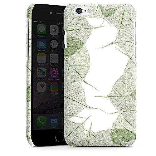 Apple iPhone 6 Housse Étui Silicone Coque Protection Feuilles Feuillage Plante Cas Premium brillant