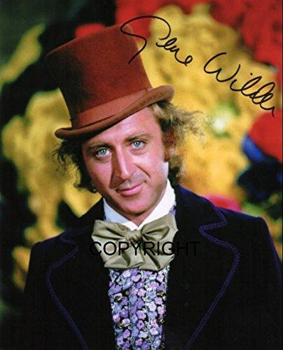 Limited Edition Gene Wilder Willy Wonka unterzeichnet Foto Autogramm signiertsigniertes