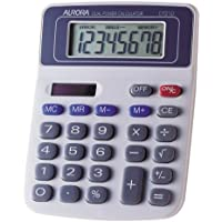 Aurora DT210 Desktop Basic Grey calculator - Calculators (Desktop, Basic, 8 digits, 1 lines, Grey) -  Confronta prezzi e modelli