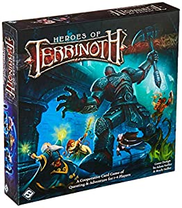 Fantasy Flight Games Heroes of Terrinoth Co-Operative Card Game from