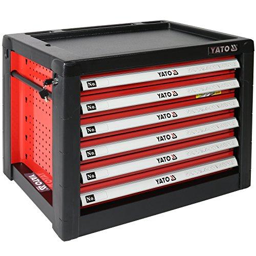 Preisvergleich Produktbild Metall Werkzeugkasten mit 6 Schubladen YT-09155