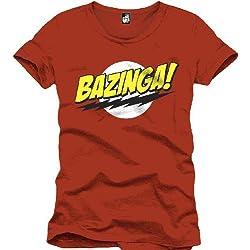 The Big Bang Theory : Bazinga! (T-Shirt Unisex Tg. M) [Italia]