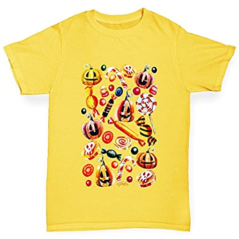 TWISTED ENVY Mädchen T-Shirt Trick Or Treat Candy Print Age
