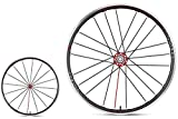 Fulcrum Racing Zero Competizione 2-Way Shimano Wheels, Black, One Size
