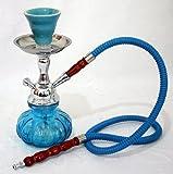 "10"" Pumpkin Hookah Mini Shisha Narghile Smoking Pipe - INDIGO BLUE by Hookah4sale Mini Hookahs"