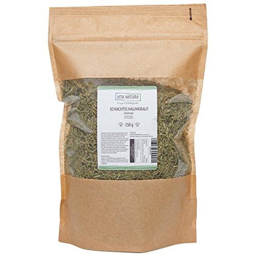 Vita Natura Schachtelhalmkraut, Zinnkraut Tee, 1er Pack (1 x 250 g)