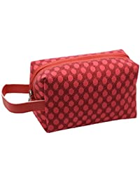 GBSELL Sparkling Shiny Waterproof Cosmetic Bag Storage Travel Bags Makeup Bag (Red)