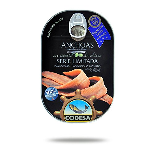 Filetti di Acciughe Mar Cantabrico Serie Limitata CODESA 190 g - CODESA ANCHOAS SERIE LIMITADA 190 g
