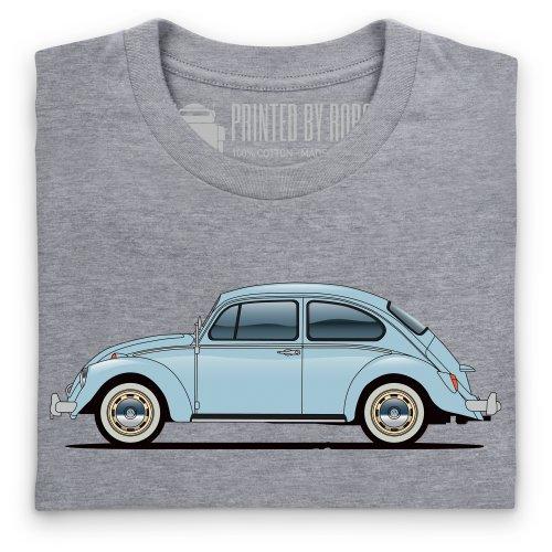 General Tee Veeedub Beetle T-Shirt, Herren Grau Meliert