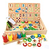 Teaching Toys Early Childhood Easy Learning Preschool Suitable for 3-6 Years Old