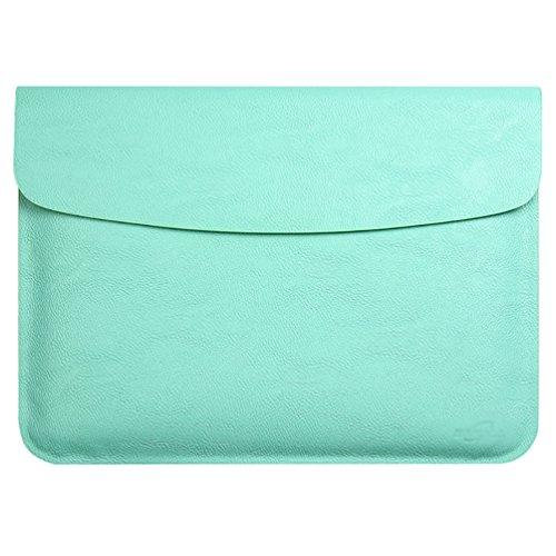 YiJee MacBook Air / Pro Laptop Hülle Notebook Tasche Schutzhülle Aktentasche 15.4 Zoll Grün