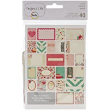 American Crafts Project Life Themed Cards, multicolore, 1.27 x 12.7 x 20.32 cm, Multi-colour, 16.51 x 12.7 x 0.96 cm
