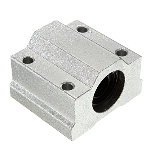 Rpi shop SC8UU 8mm Aluminum Linear Motion Ball Bearing Slide Bushing For CNC