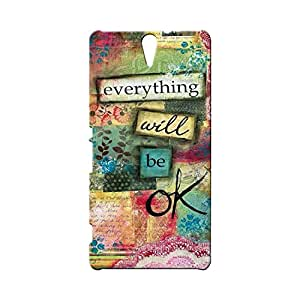 BLUEDIO Designer Printed Back case cover for Sony Xperia C5 - G0436