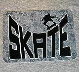 Dozili Plaque en métal Skate Skateboarding Skateboarder Patinage ou Die SK8Sk8r...