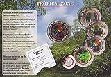 """TopschnaeppchenDSH Die erste Gedenkausgabe """"Tropische Zone – Papagei"""" mit rotem lichtdurchlässigen Ring!, Ring wie 5-Euro-Stück"""