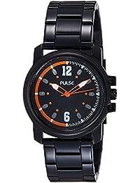 Pulse Analog Black Dial Men's Watch - PL0705