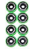 Labeda 4er 8er Set Shooters Hockey Rollen 72mm/78A Streethockey Inliner Skates Allround 18-N2 (8er Set Rollen)
