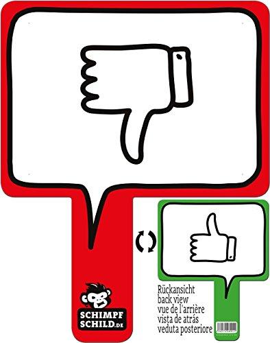 Preisvergleich Produktbild rednow products Lustiges Meinungsschild für Büro, Auto, Fotoshootings, Events, Festivals, Konzerte, Schule Oder Uni