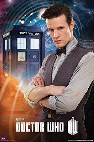 Doctor Who - Matt Smith 11th Doctor Poster Drucken (60,96 x 91,44 cm) (Matt Smith Poster)