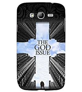 printtech God Issue Back Case Cover for Samsung Galaxy Grand Neo::Samsung Galaxy Grand Neo i9060
