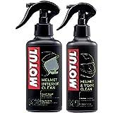 Pack Motul MC Care M1 + M2 pour le nettoyage du casque 250 ml