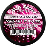 Mia Secret flash-neon acrílico Nail Art polvo, Rosa 22ml