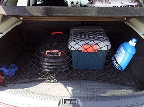 Rete per bagagli universale Moon 9 ® con elastico in Nylon, colore: nero