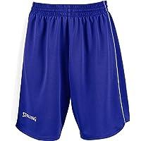 Spalding 4her II Shorts De Equipaciones, Mujer, Azul Royal/Blanco, XXXS