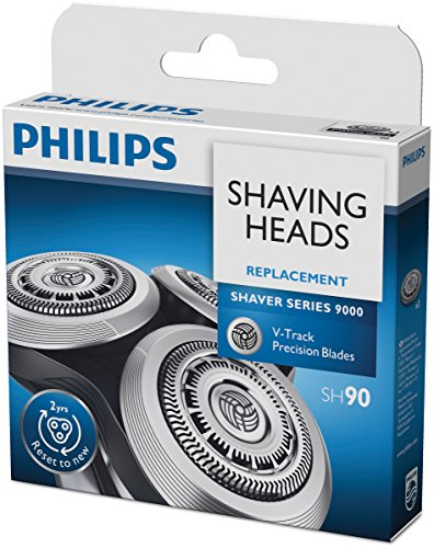 Philips SH90/50 Lot de 3 têtes de rasage compatibles pour Series 9000
