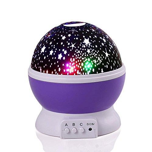 LederTEK Lámpara Proyector Cielo Estrellas Luna Creando