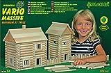 Walachia 8594036430259 8594036430259-Vario Massive Holzbausteine Set, 209 Teile