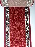 Teppich Küchenläufer auf Maß Rot 1055 lfm. 11,90 Euro Breite 60 x 340 cm